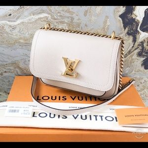 New In Stores! Louis Vuitton Lockme PM Chain Bag